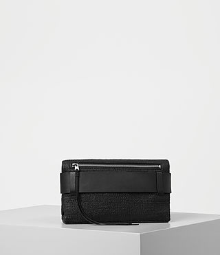 Mujer Zoku Clutch (Black) - product_image_alt_text_5