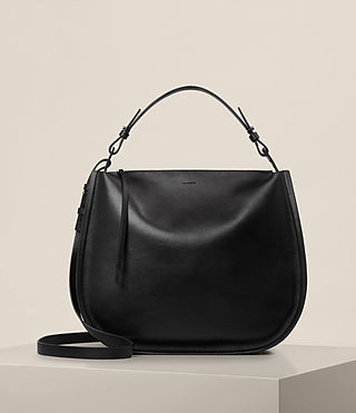 Womens Kanda Hobo Bag (Black) - product_image_alt_text_1