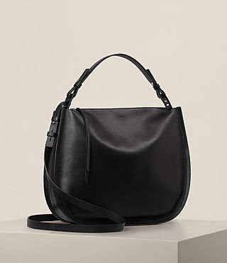 Womens Kanda Hobo Bag (Black) - product_image_alt_text_4