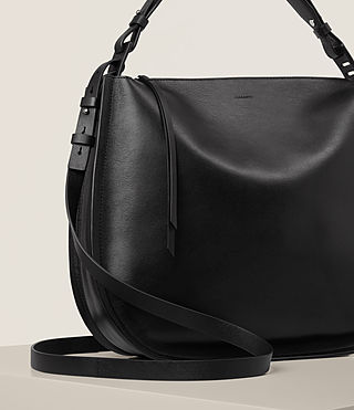 Womens Kanda Hobo Bag (Black) - product_image_alt_text_5