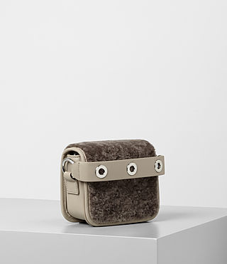 Womens Ikuya Small Clutch (Taupe Brown) - product_image_alt_text_3