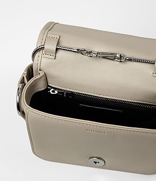 Womens Ikuya Small Clutch (Taupe Brown) - product_image_alt_text_4