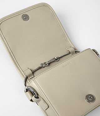 Womens Ikuya Small Clutch (Taupe Brown) - product_image_alt_text_5