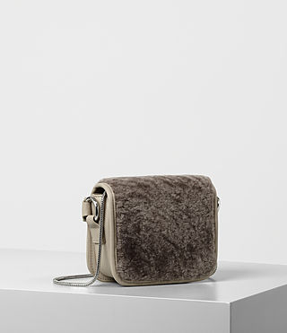 Womens Ikuya Small Clutch (Taupe Brown) - product_image_alt_text_6