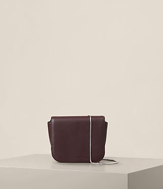 Womens Arc Crossbody (PRUNE)