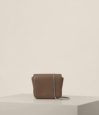 Mujer Arc Small Crossbody (MINK GREY) - product_image_alt_text_1