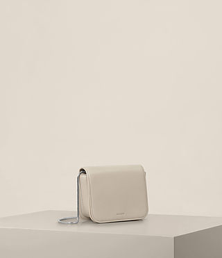 Women's Arc Small Crossbody (STONE WHITE) - product_image_alt_text_2