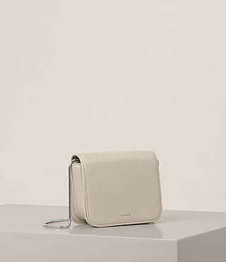 Women's Arc Small Crossbody (STONE WHITE) - product_image_alt_text_4