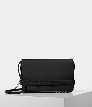 Mujer Club Large Clutch (Black) -