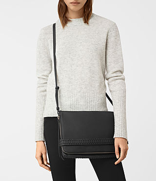 Damen Club Large Clutch (Black) - product_image_alt_text_2