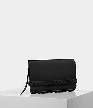 Damen Club Large Clutch (Black) - product_image_alt_text_4