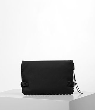 Mujer Club Large Clutch (Black) - product_image_alt_text_6