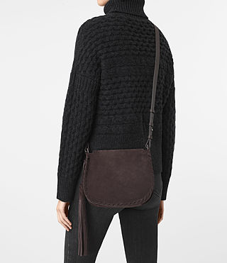 Women's Mori Suede Crossbody (PRUNE) - product_image_alt_text_2