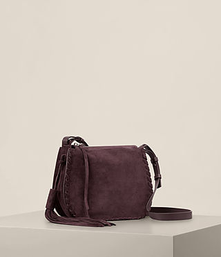 Women's Mori Suede Crossbody (PRUNE) - product_image_alt_text_4