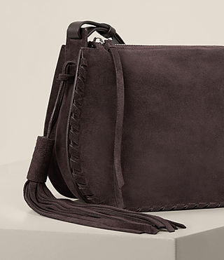 Women's Mori Suede Crossbody (PRUNE) - product_image_alt_text_5