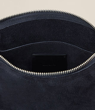 Womens Mori Suede Crossbody (Dark Blue) - product_image_alt_text_6
