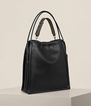 Damen Dive North South Tote (Black) - product_image_alt_text_5