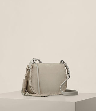 Womens Mori Nubuck Crossbody (LIGHT CEMENT GREY) - product_image_alt_text_5