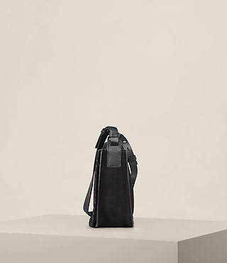 Women's Mori Nubuck Crossbody (Black) - product_image_alt_text_4