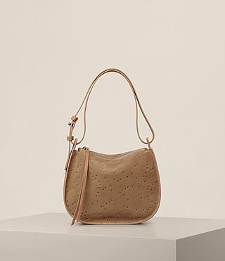 Womens Echo Mini Hobo Bag (LIGHT CARAMEL) - product_image_alt_text_1