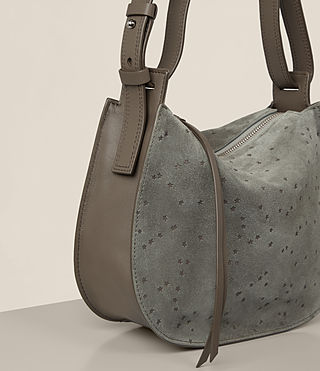 Womens Echo Mini Hobo Bag (Smoke Grey) - product_image_alt_text_4