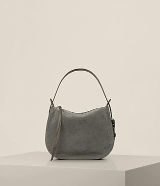 Womens Echo Mini Hobo Bag (Smoke Grey) - product_image_alt_text_7