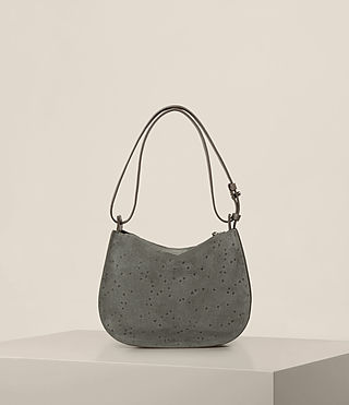 Women's Echo Mini Hobo Bag (Smoke Grey) - product_image_alt_text_9