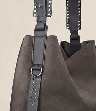 Womens Billie North South Tote (Slate Grey) - Image 3