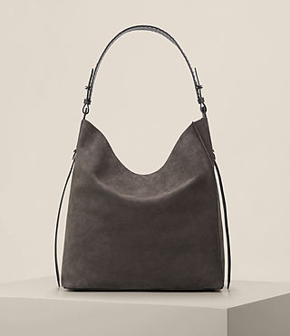 Womens Billie North South Tote (Slate Grey) - Image 4