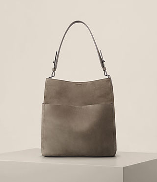 Femmes Sac tote Echo North South (Ash Grey)