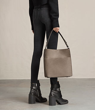 Womens Echo North South Tote (Ash Grey) - product_image_alt_text_2