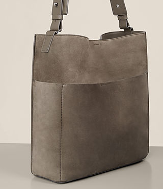 Womens Echo North South Tote (Ash Grey) - product_image_alt_text_3