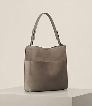 Womens Echo North South Tote (Ash Grey) - product_image_alt_text_5
