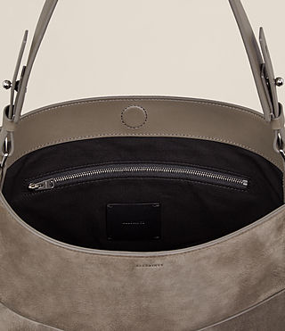Womens Echo North South Tote (Ash Grey) - product_image_alt_text_6