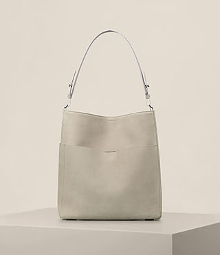 Mujer Echo North South Tote (LIGHT CEMENT GREY)