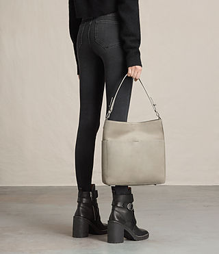 Mujer Echo North South Tote (LIGHT CEMENT GREY) - product_image_alt_text_2