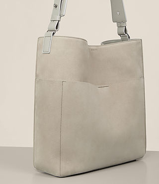 Mujer Echo North South Tote (LIGHT CEMENT GREY) - product_image_alt_text_3