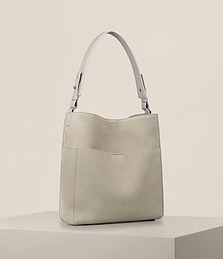Mujer Echo North South Tote (LIGHT CEMENT GREY) - product_image_alt_text_5