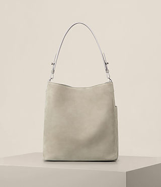 Mujer Echo North South Tote (LIGHT CEMENT GREY) - product_image_alt_text_7