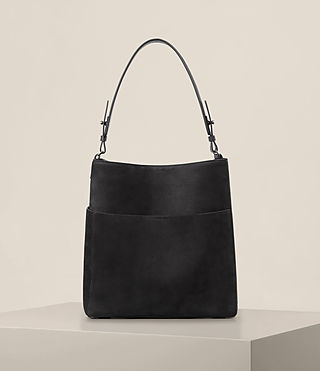 Womens Echo North South Tote (Black) - product_image_alt_text_1