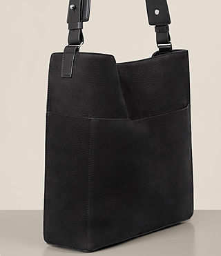 Womens Echo North South Tote (Black) - product_image_alt_text_3