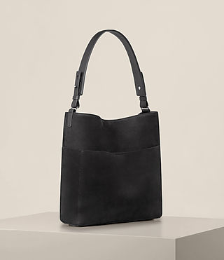 Womens Echo North South Tote (Black) - product_image_alt_text_5