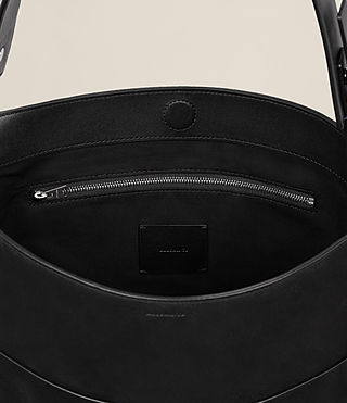 Womens Echo North South Tote (Black) - product_image_alt_text_6