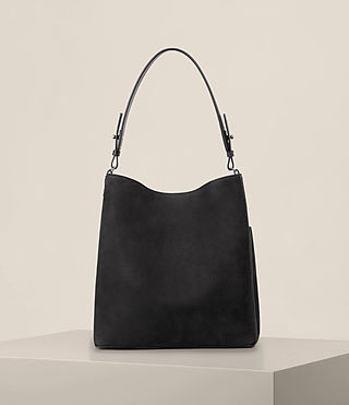 Womens Echo North South Tote (Black) - product_image_alt_text_7