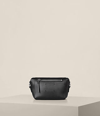 Womens Maya Soft Clutch (Black) - product_image_alt_text_7