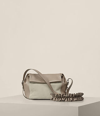 Womens Maya Crossbody (TAUPE GREY)