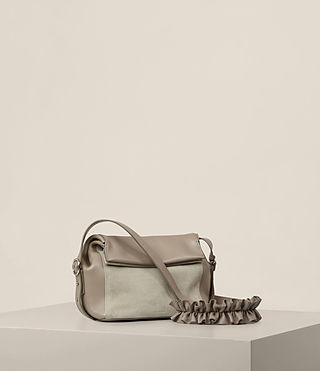 Women's Maya Crossbody (TAUPE GREY) - product_image_alt_text_4