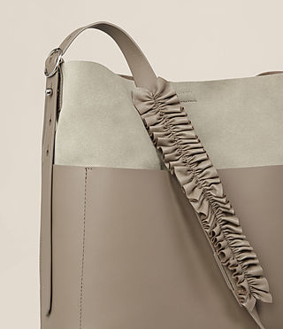 Women's Maya North South Tote (TAUPE GREY) - product_image_alt_text_3