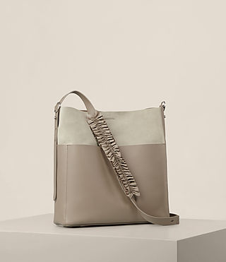 Women's Maya North South Tote (TAUPE GREY) - product_image_alt_text_5