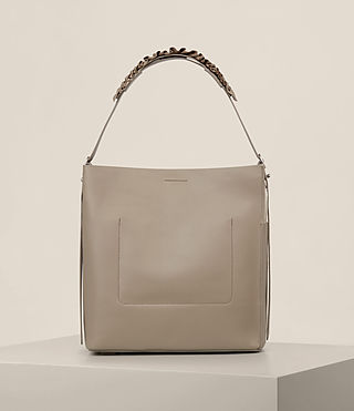 Women's Maya North South Tote (TAUPE GREY) - product_image_alt_text_7
